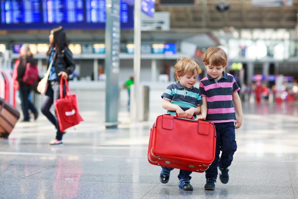 aéroport de marseille enfant