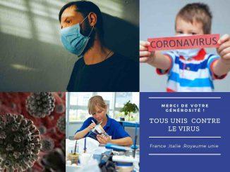 Donation pour le COVID-19